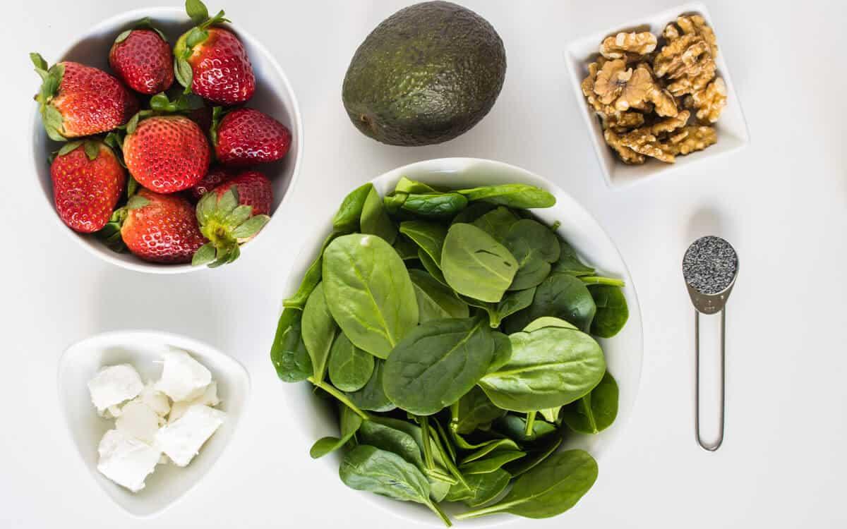 Strawberry Salad recipe ingredients