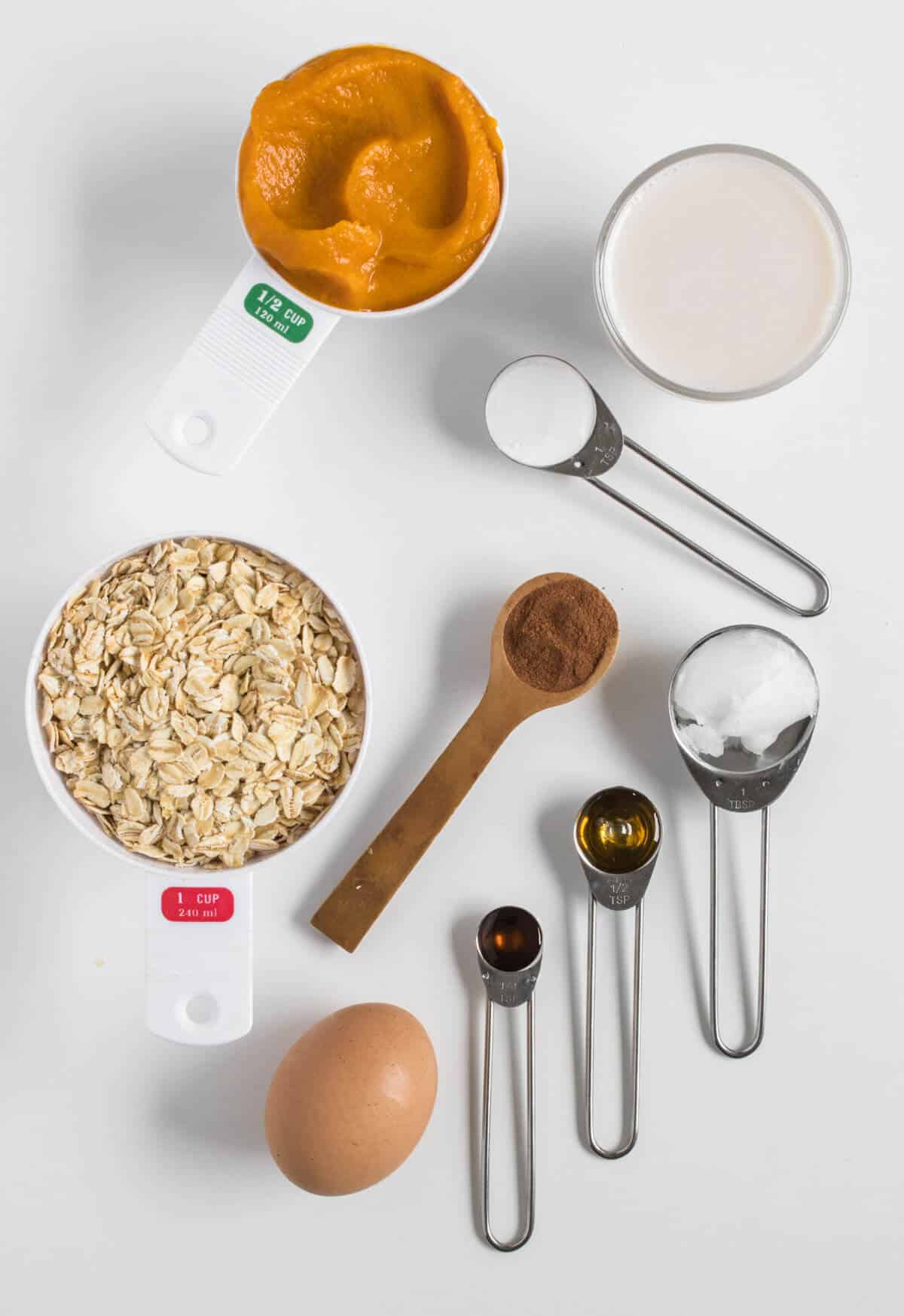 Pumpkin pancakes ingredients
